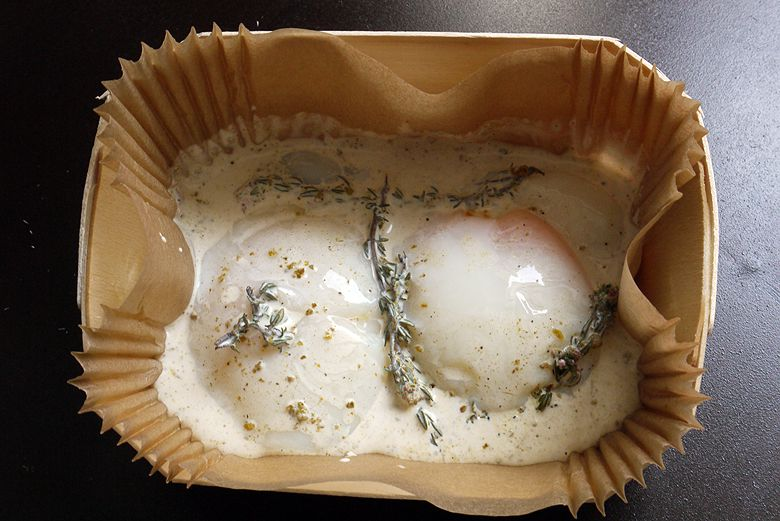 Œuf cocotte à la crème